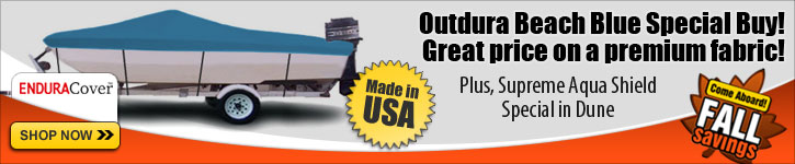 Outdura Beach Blue Special Buy - Big Savings!
