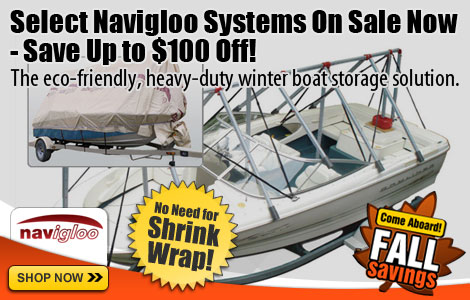 Navilgoo Boat Shelter System - Up to $100 Off!