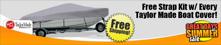 Free Strap Kit w/ Boat Cover Purchase!