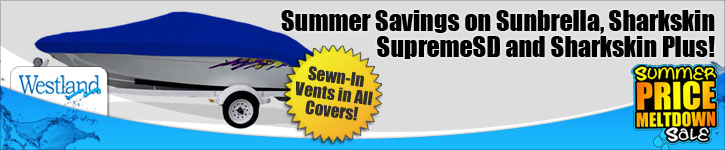 Summer Sale - 15% Off Sunbrella, Sharkskin SupremeSD and Sharkskin Plus!