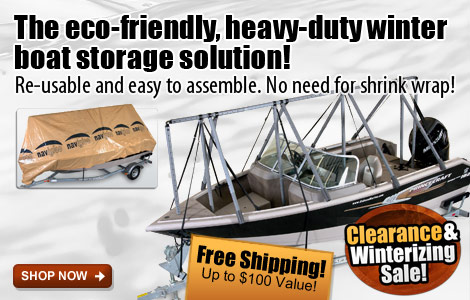 Free Shipping on Navigloo Boat Shelters!