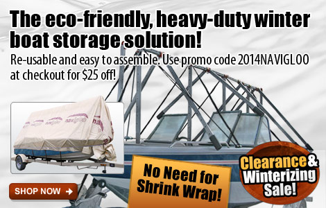 Navigloo Boat Shelter - Save $25 Off!