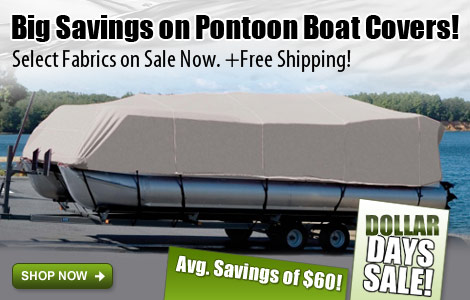 Save on Select Pontoon Covers!